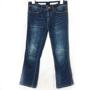 Pilcro and the Letterpress Cropped Stet Jeans